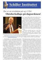 Schiller Instituttet - schillerinstitut.dk