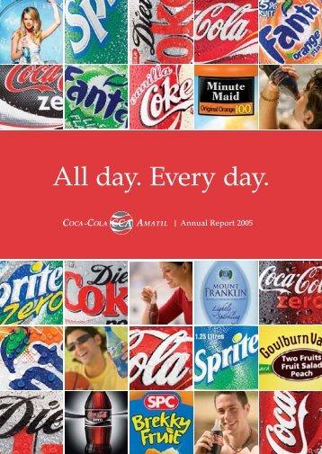 2005 Annual Report - Coca-Cola Amatil