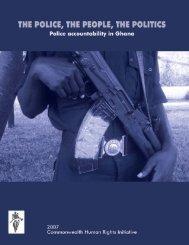 Police Accountability in Ghana - Commonwealth Human Rights ...
