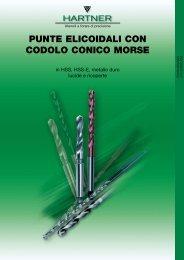 PUNTE ELICOIDALI CON CODOLO CONICO MORSE - Sicutool