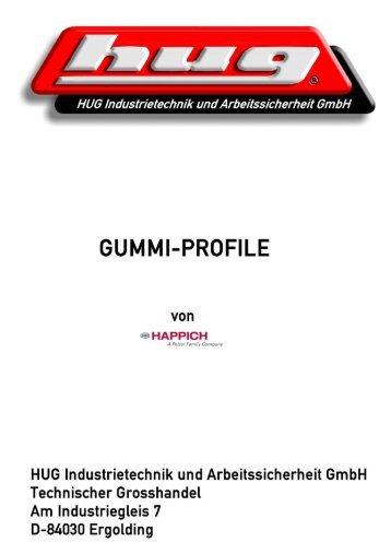 HAPPICH-Gummi-Profile PDF-Katalog der ... - hug-technik ergolding