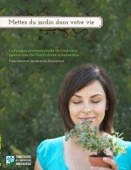 Mettez du jardin dans votre vie - Fédération interdisciplinaire de l ...