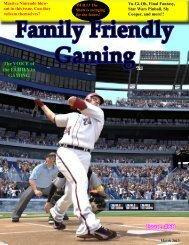 Issue #68 - Family Friendly Gaming