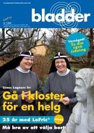gå i kloster för en helg - Astra Tech