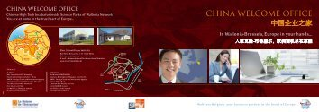 CHINA WELCOME OFFICE - Invest in wallonia