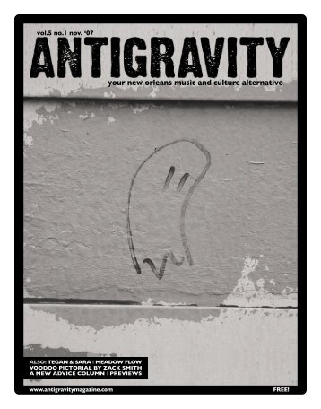 November 2007 (PDF) - Antigravity Magazine