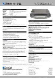 Technical Specifications - Strumedical.com
