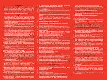 POSTANOWIENIA OGÓLNE § 1 § 2 DEFINICJE § 3 ... - Media Markt