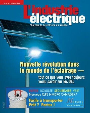 Nouvelle révolution dans le monde de l'éclairage — - Electrical ...
