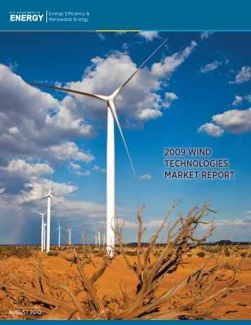 2009 Wind Technologies Market Report - Electricity Market and Policy