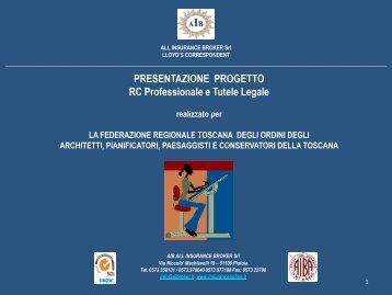 Presentazione prodotto - Ordine Architetti Arezzo