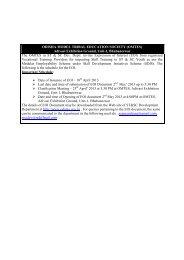 EOI for empanelment of Vocational Training ... - Stscodisha.gov.in