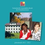 Jahresbericht 2011 / 2012 - Fachschule für wirtschaftliche Berufe ...