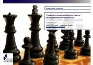 Trends in online advertising and content Strategies - Digital Training ...