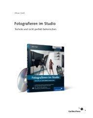 Fotografieren im Studio - Galileo Design