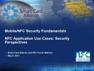 to download the webinar presentation. - Smart Card Alliance