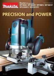 PRECISION and POWER - Makita
