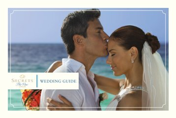 WEDDING GUIDE - We have recently upgraded our login system for ...