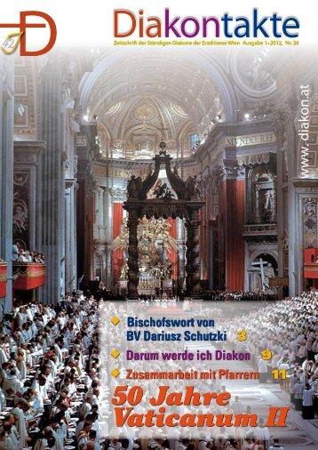 Nr. 26 - 1/2012 - Diakone Österreichs