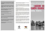 Qualificação do Jardim do Campo Grande - Zona Norte