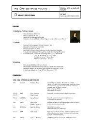 Neoclassicismo - Home Page de José Manuel Russo