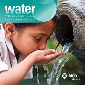 Water: Protecting a Global Resource - Merck Responsibility