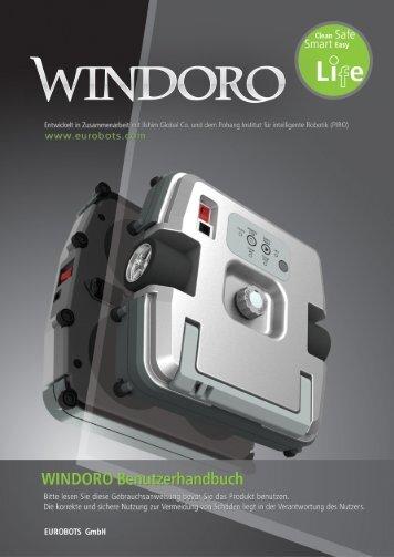 Bedienungsanleitung - Fensterputzroboter ... - myRobotcenter
