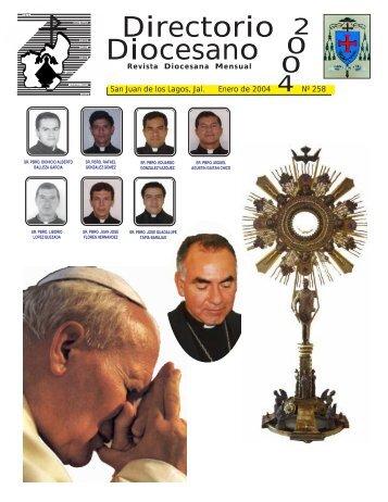Directorio Diocesano - Diócesis de San Juan de los Lagos