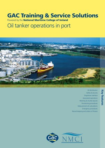 GTSS Oil Tanker Operations in Port - National Maritime College of ...