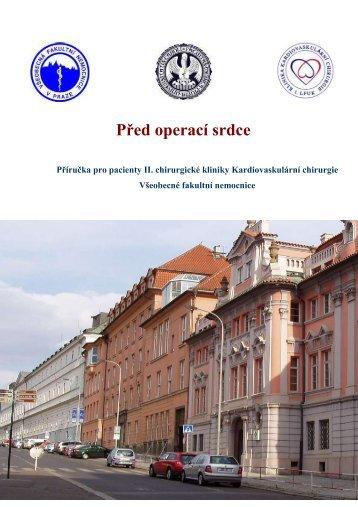 Stáhněte si příručku pro pacienty - II. chirurgická klinika ...