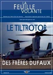 DES FRÈRES DUFAUX - Aeroclub de Genève