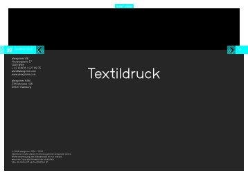 Textildruck (2 MB) - alexgrimm