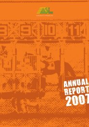 Annual Report 2007 - Investing In Africa