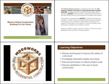 Wood in School Construction: Building for our Future - WoodWorks