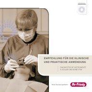 empfehlung für die klinische und praktische anwendung - Hu-Friedy