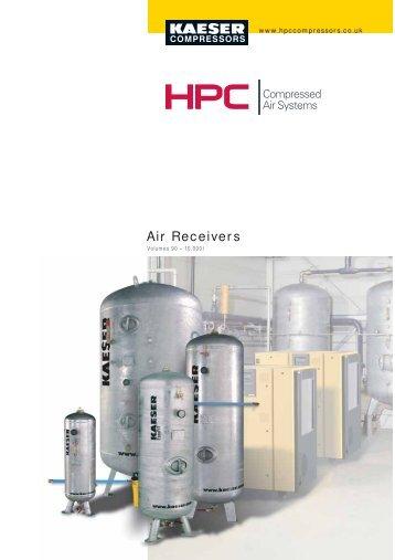 Air Receivers - Maziak Compressor Services