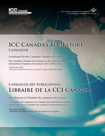 Download the catalogue here - Canadian Chamber of Commerce
