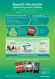 implementation pathway - College of Occupational Therapists