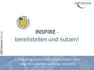INSPIRE - bereitstellen und nutzen - netzwerk   GIS Sachsen-Anhalt