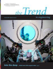 The Trend in Engineering, Fall 2007 - College of Engineering