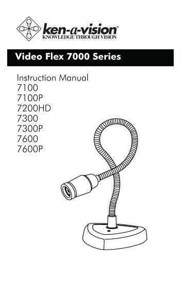 video flex 7000 series instruction manual 7100 ken a vision rh yumpu com oyster vision instruction manual archos 18b vision instruction manual