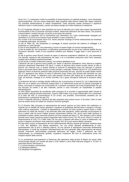 patologia iatrogena laser - ABCsalute.it