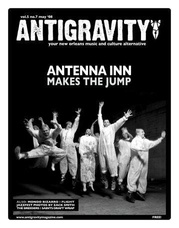 May 2008 (PDF) - Antigravity Magazine