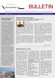 Hanse-Aerospace Bulletin 02-2005 - HANSE AEROSPACE e.V