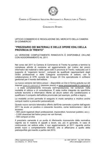 Manuale operativo prezziario opere edili brescia - Prezzario camera di commercio ...