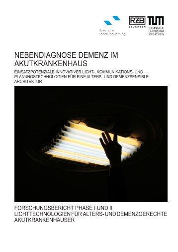 nebendiagnose demenz im akutkrankenhaus - Lehrstuhl für ...