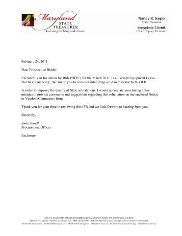 Solicitation letter and form ps 158 solicitation letter maryland state treasurer thecheapjerseys Image collections