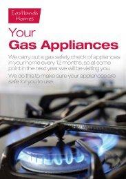 Your Gas Appliances - Eastlands Homes