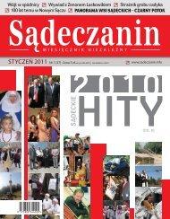 Zobacz pełne wydanie (PDF) - Sądeczanin
