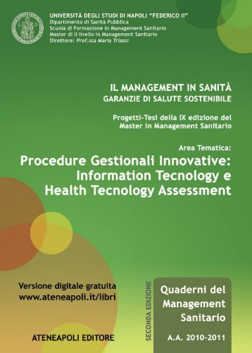 Procedure Gestionali Innovative: Information ... - Ateneapoli